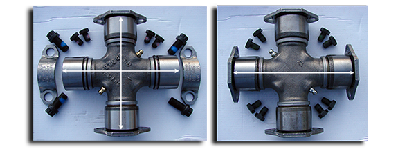 Randy's Driveshaft Service - Bearing Plate Joints